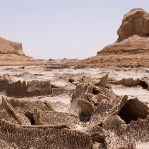 Natural Keys of the Lut Desert